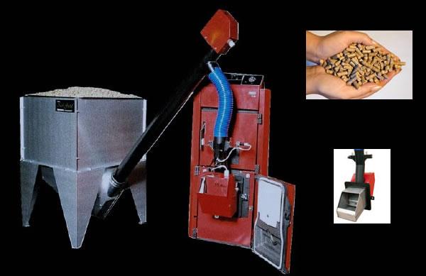 Calefaccion con pellets images - Caldera de pellets ...